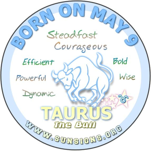 The 9 May birthdate astrology analysis predicts that a Taurus born on this day wants the best of both worlds.