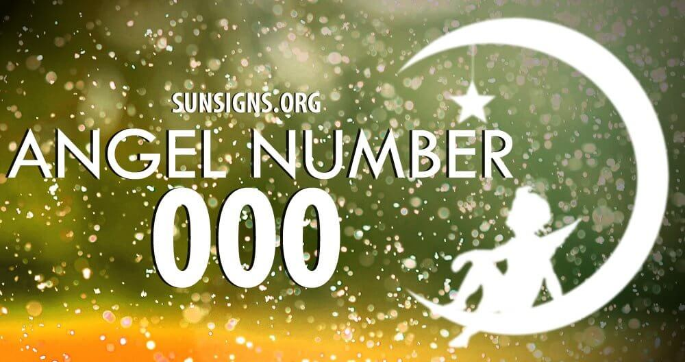 Angel number 000 and the significance of its repetition, highlights the urgency behind its conveying message of spiritual confirmation