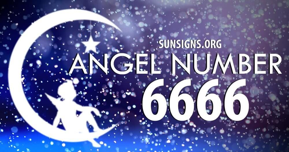 Angel number 6666 shows unbalanced thoughts