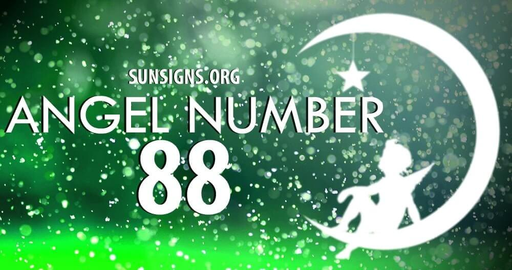 Angel Number 88 forecasts a period of rewards and food fortune