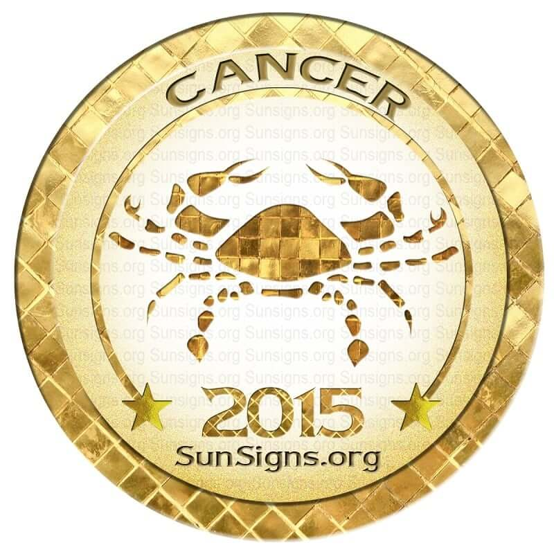 Cancer Horoscope 2015 Predictions | SunSigns Org