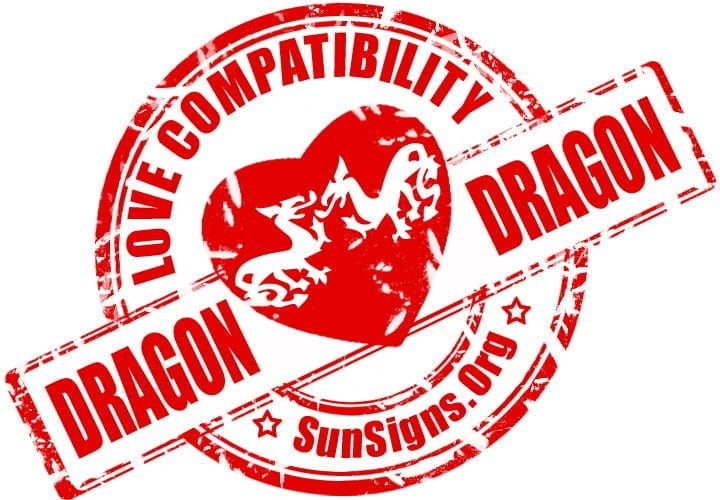 Dragon Dragon Compatibility. When two Dragons fall in love, the result is pure magic.