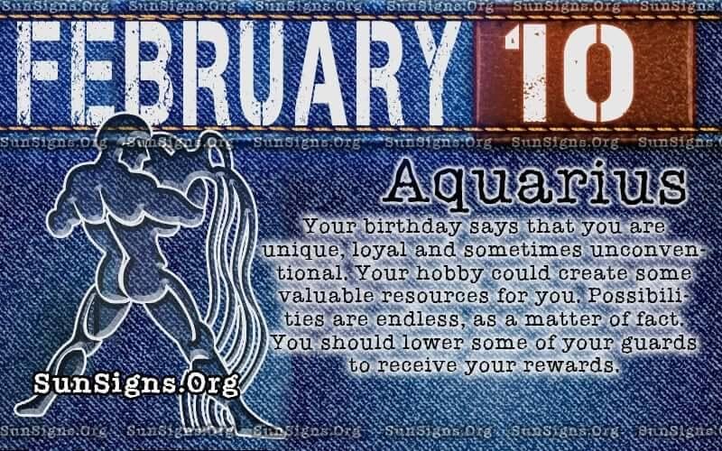 february 10 birthday