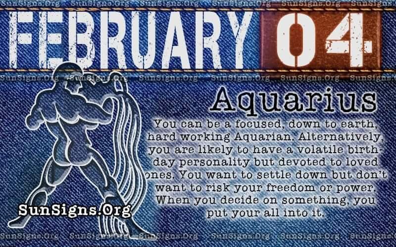 february 4 birthday