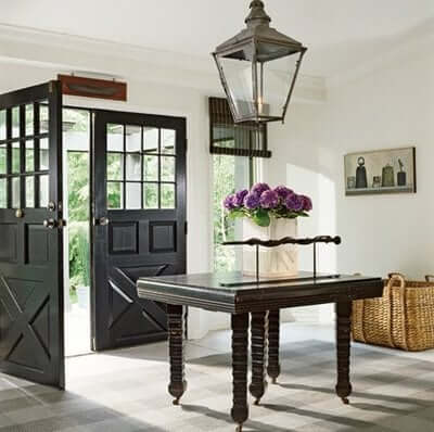 Make sure that your entry way to your home is inviting.
