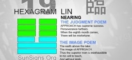 I Ching 19 meaning - Hexagram 19 Nearing
