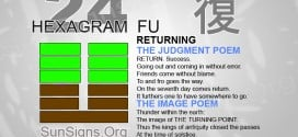 I Ching 24 meaning - Hexagram 24 Returning