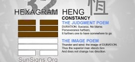 I Ching 32 meaning - Hexagram 32 Constancy
