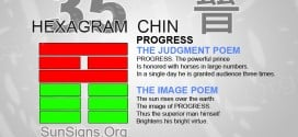 I Ching 35 meaning - Hexagram 35 Progress
