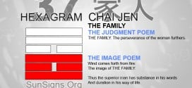 I Ching 37 meaning - Hexagram 37 The Family