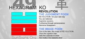 I Ching 49 meaning - Hexagram 49 Revolution