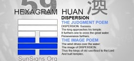 I Ching 59 meaning - Hexagram 59