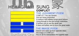 I Ching 6 meaning - Hexagram 6 Conflict