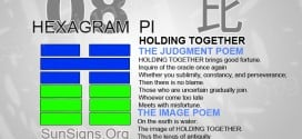 I Ching 8 meaning - Hexagram 8 Holding Together