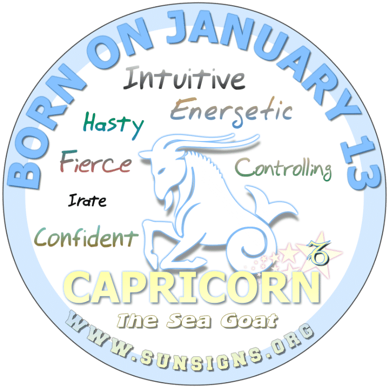 January 13th Horoscope