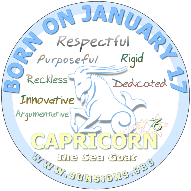 Zodiac sign for january 17