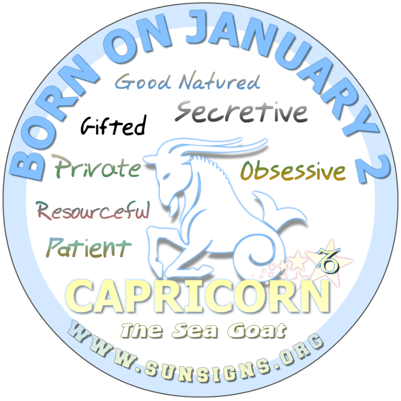 January 2nd Horoscope