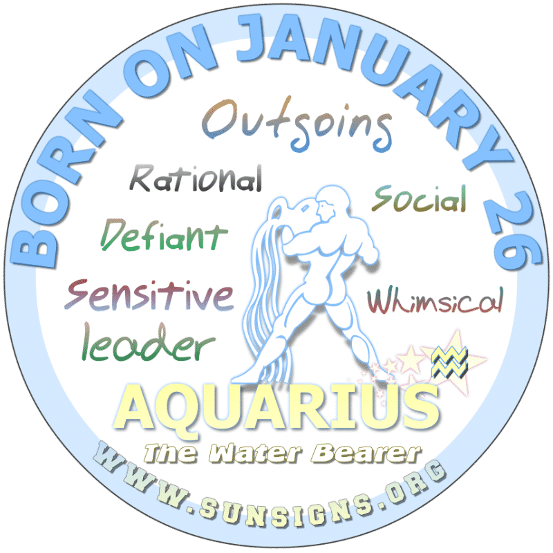 January 26 Zodiac Sign