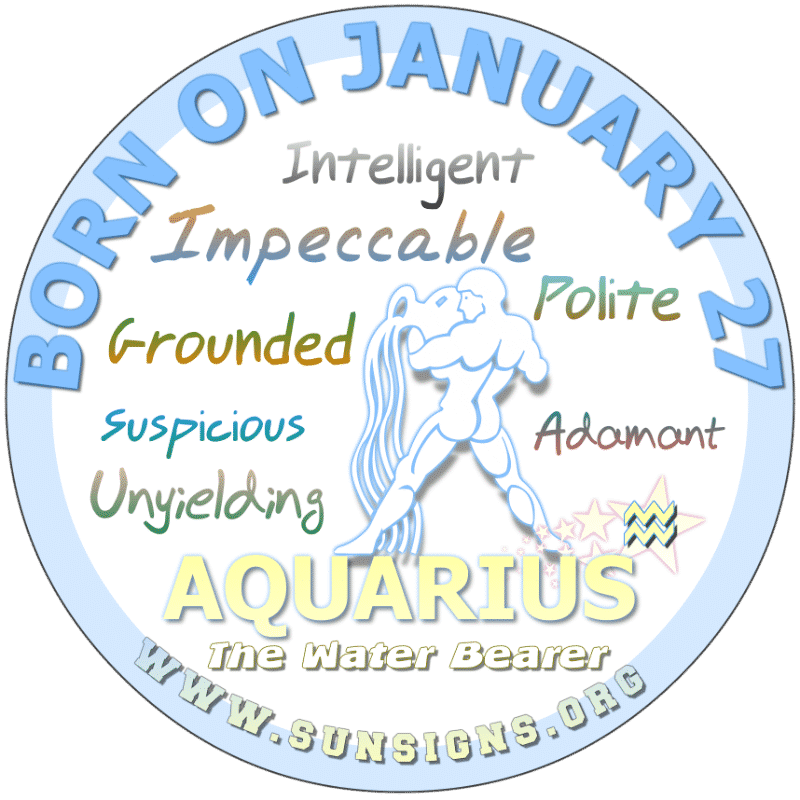 january 27 astrology profile