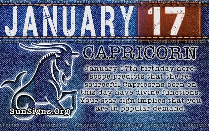 january 17 birthday