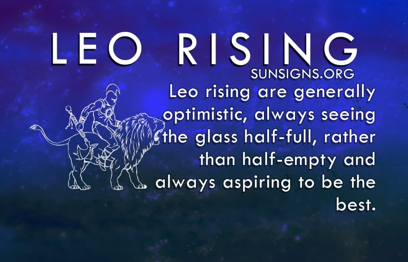 Leo Rising was born for the limelight.