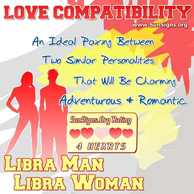 Aries Woman and Libra Man Compatibility