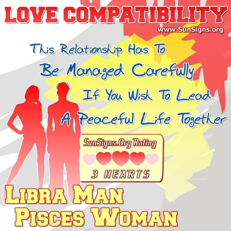 Did compatibility between libra man and pisces woman