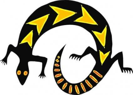 lizard mayan sign