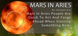 Mars In Aries. Mars In Aries People Are Quick To Act And Forge Ahead When Starting Something New.