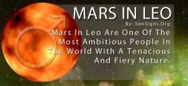 Mars In Leo. Mars In Leo Are One Of The Most Ambitious People In The World With A Tenacious And Fiery Nature.