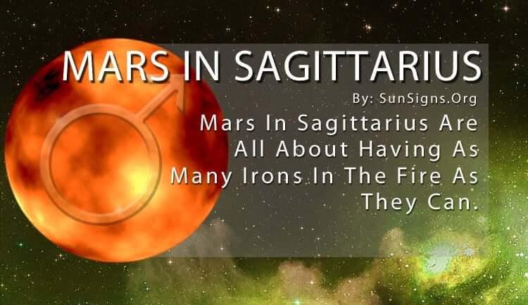 The Mars In Sagittarius