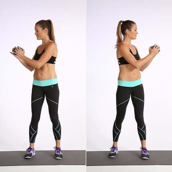 Our next exercise is called standing trunk twists.