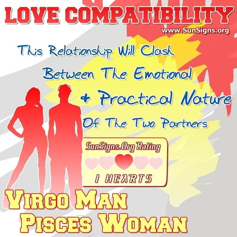 Virgo man pisces woman compatibility