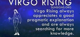 Virgo rising is the analyst of the zodiac.