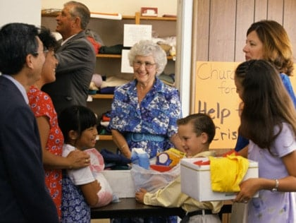 Volunteering has become one of the favorite family activities.
