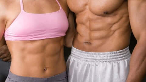 abs can be formed outside a gym