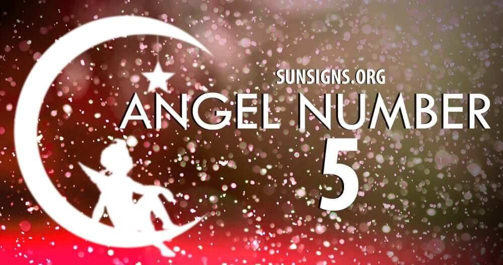 Angel Number 5 is thought to represent a time of change
