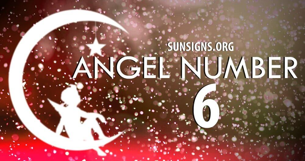 If you find that Angel Number 6 is guiding you, then your angels are seeking to draw your attention to the domestic realm