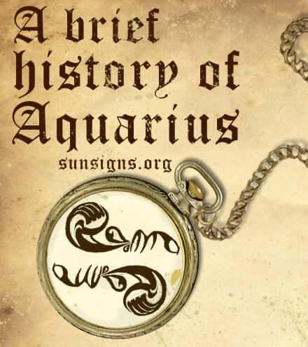 history of aquarius