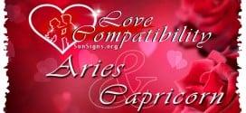 Aries Capricorn Love Compatibility