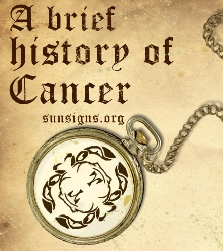 history of cancer sign