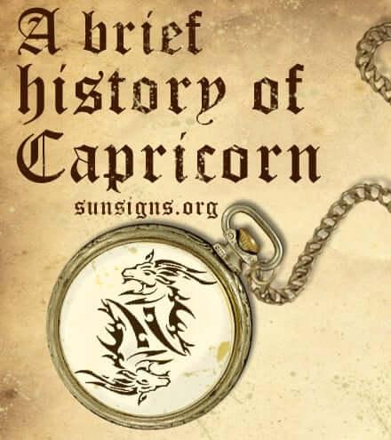 history of capricorn