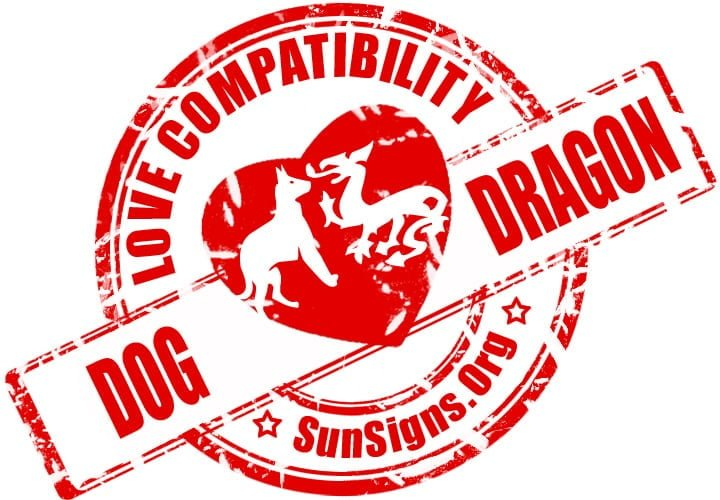 The two Chinese zodiac signs of the dog and dragon have different natures.