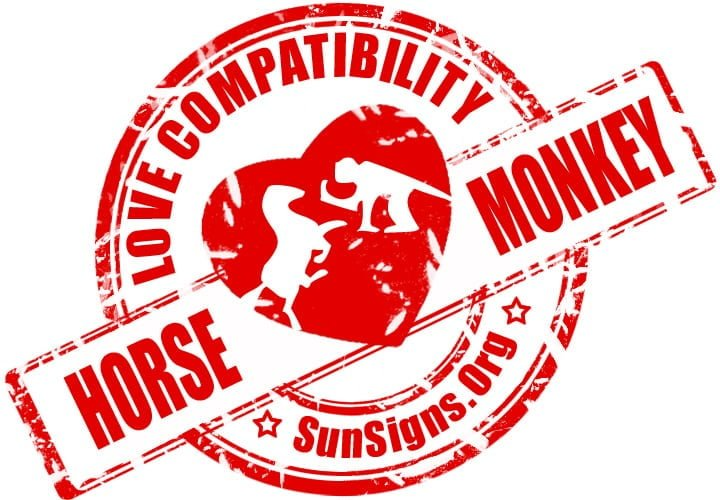 Chinese Horse Monkey Compatibility.  Is there any hope for a romance between a Horse and Monkey in love?