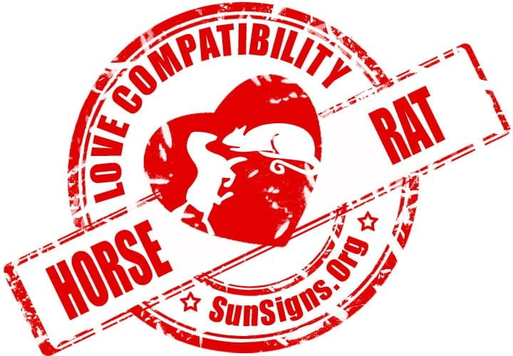 chinese horse zodiac compatibility with rat. The odds are against the Chinese horse and rat compatibility from the start.