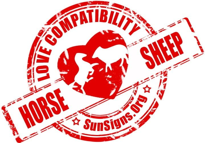 Chinese Horse Sheep Compatibility.The Horse and Sheep in love will share a lot of the same interests.