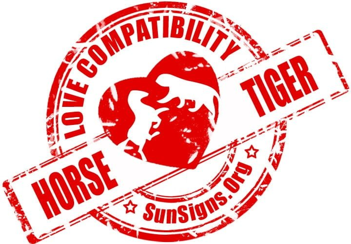 chinese horse zodiac compatibility with tiger. The pairing of the two Chinese zodiac signs horse and tiger is quite favorable.