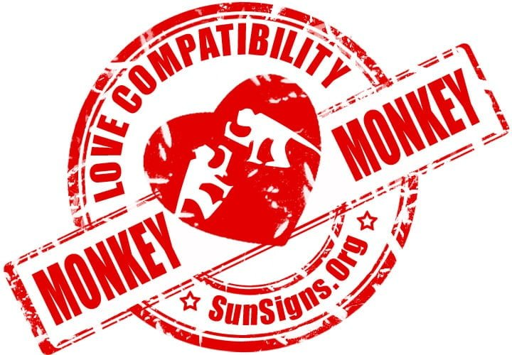 Chinese Monkey Monkey Compatibility. When it comes to control in the Monkey Monkey relationship there might be some power struggles.