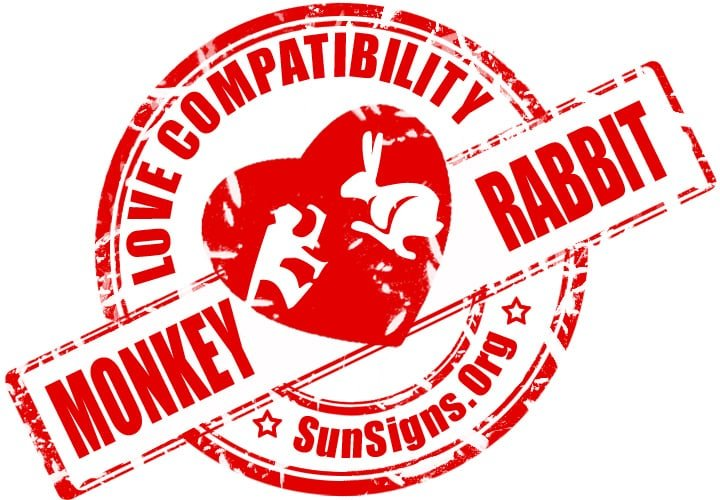 chinese monkey zodiac compatibility with rabbit.The Chinese astrology signs monkey and rabbit in love are so different that it might be difficult for them to form a connection that they are both happy with.