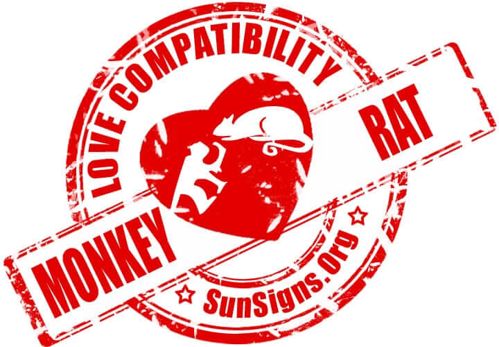 chinese monkey zodiac compatibility with rat. The two Chinese zodiac signs of the monkey and rat in love make a very fun relationship.
